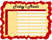 Printable Daily Menu Planner
